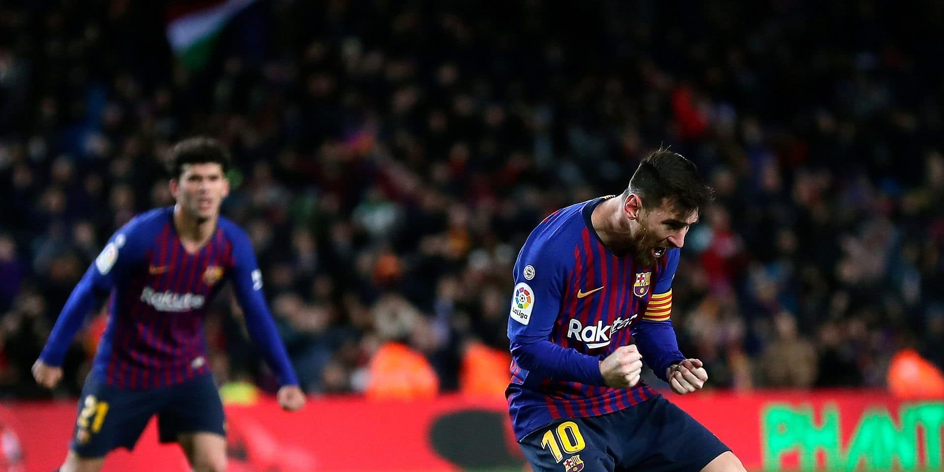 Liga: Messi, diminué, sauve le Barça contre Valence 2-2