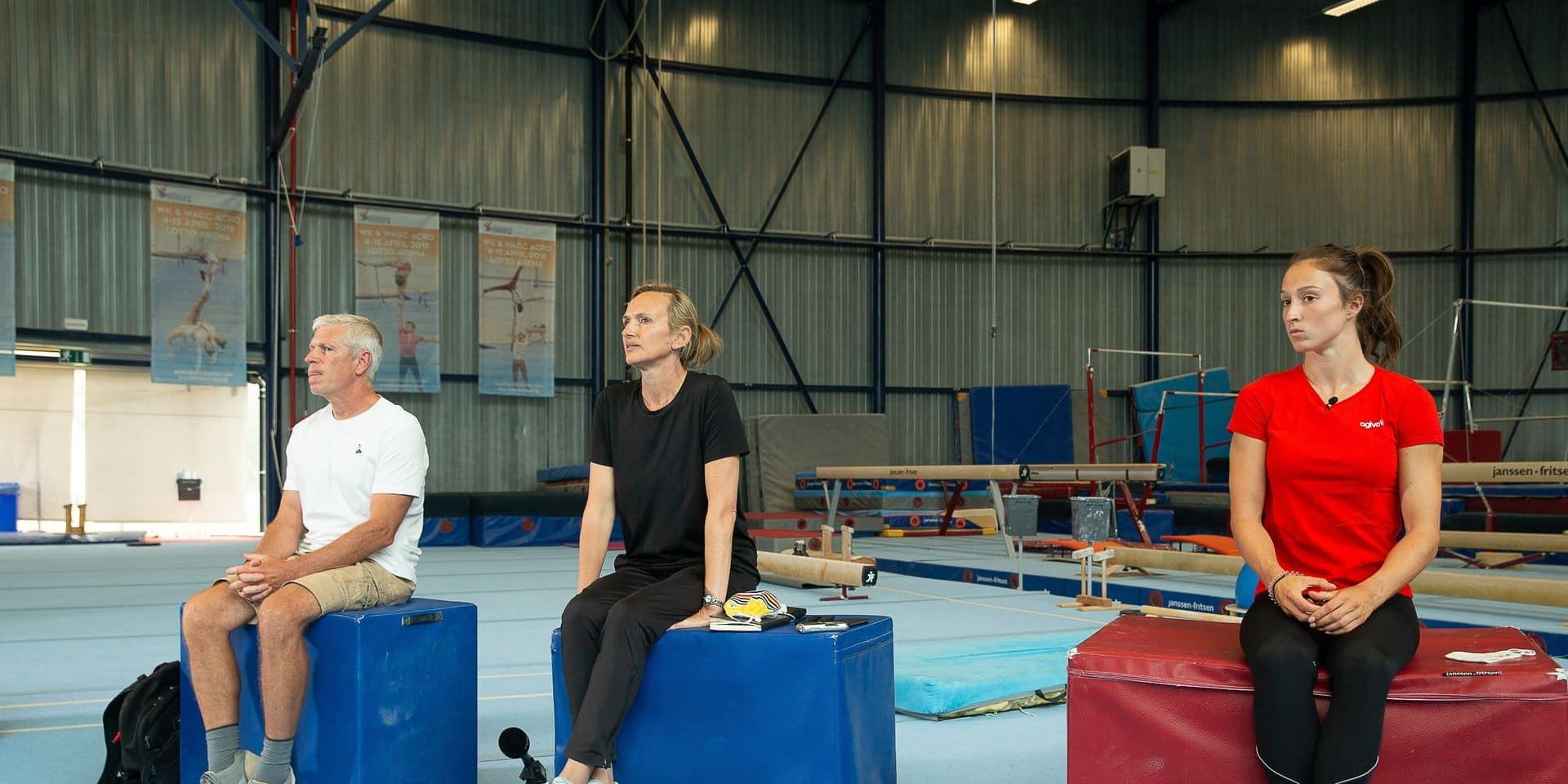 """""""Nous nous excusons sincèrement"""": les coachs de Nina Derwael regrettent et resteront en place pour les JO après l'enquête à la Gymfed"""