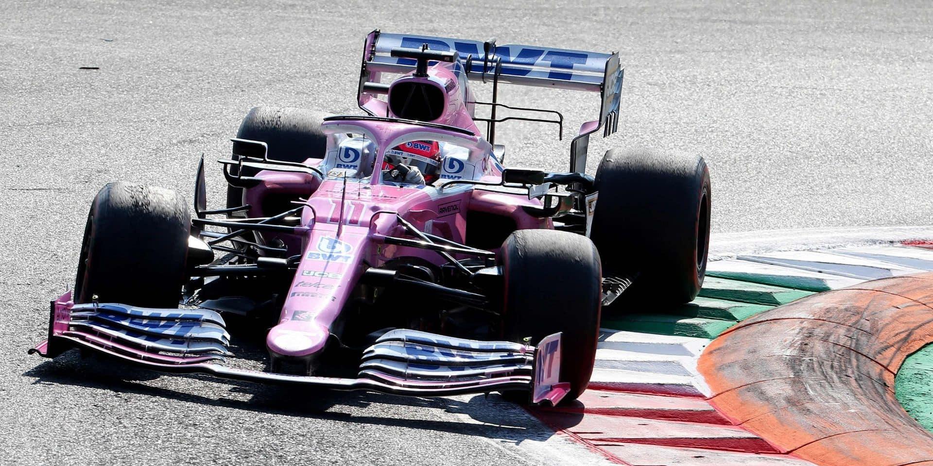 Sergio Perez annonce son départ de l'écurie Racing Point