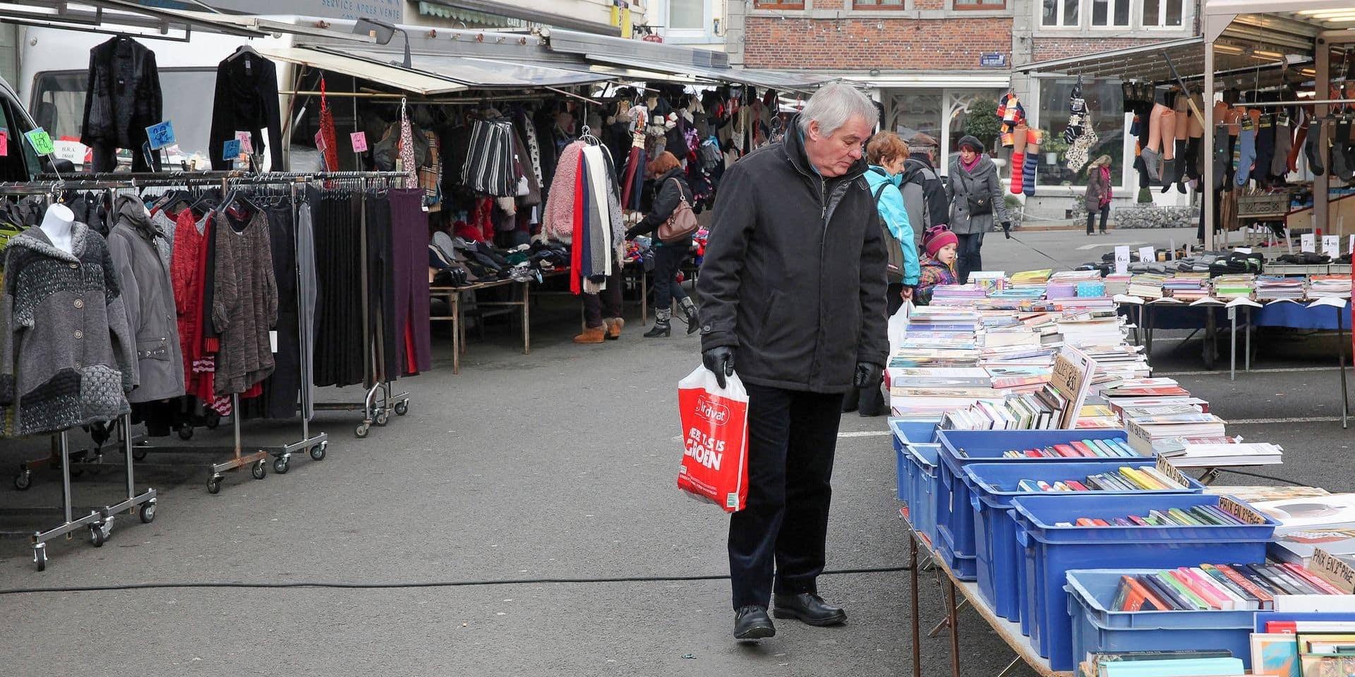 Enghien: un nouvel agencement pour le marché hebdomadaire