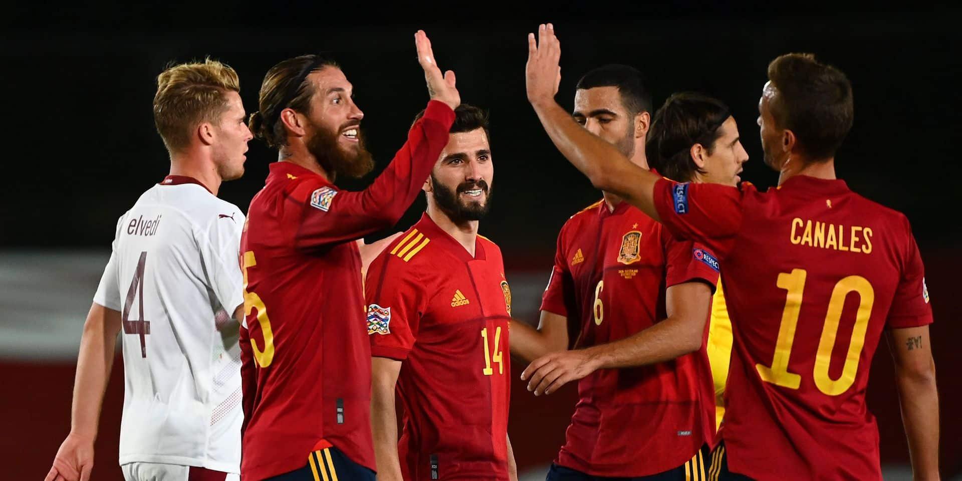 Ligue des Nations: premier succès de l'Allemagne en Ligue des Nations, l'Espagne bat la Suisse