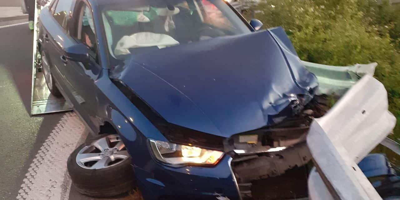 Soleilmont : accident à la sortie du R3
