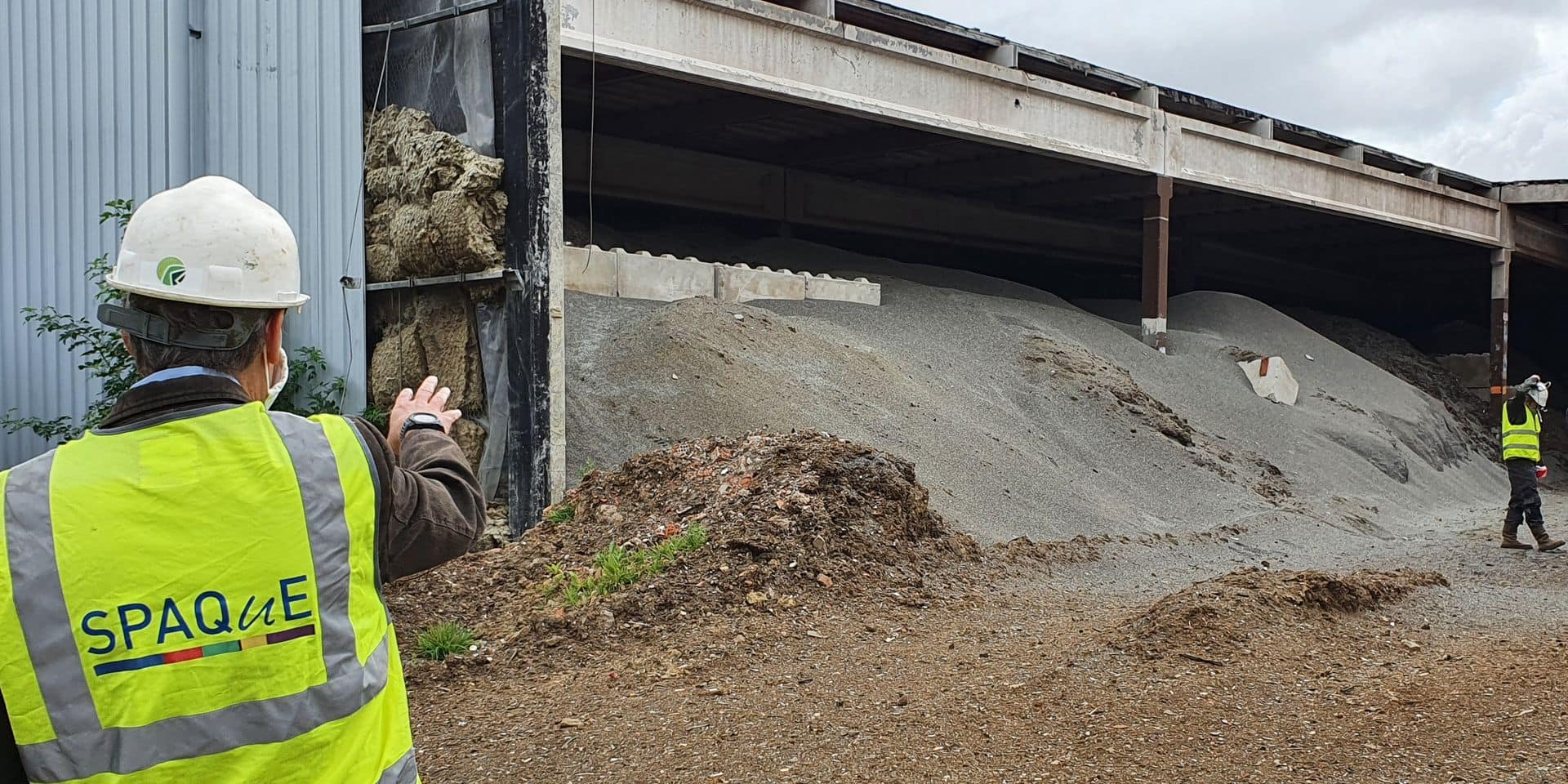 Tournai: bientôt de l'histoire ancienne pour les déchets d'Omica