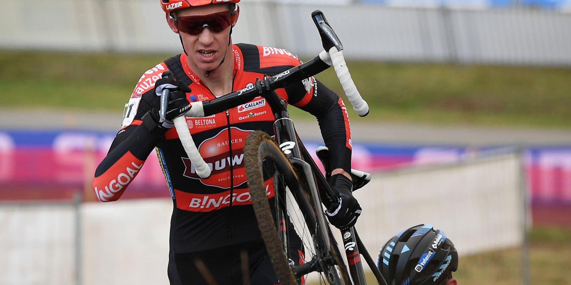Après sa victoire à Tabor, Vanthourenhout a la tête à Namur en cyclo-cross