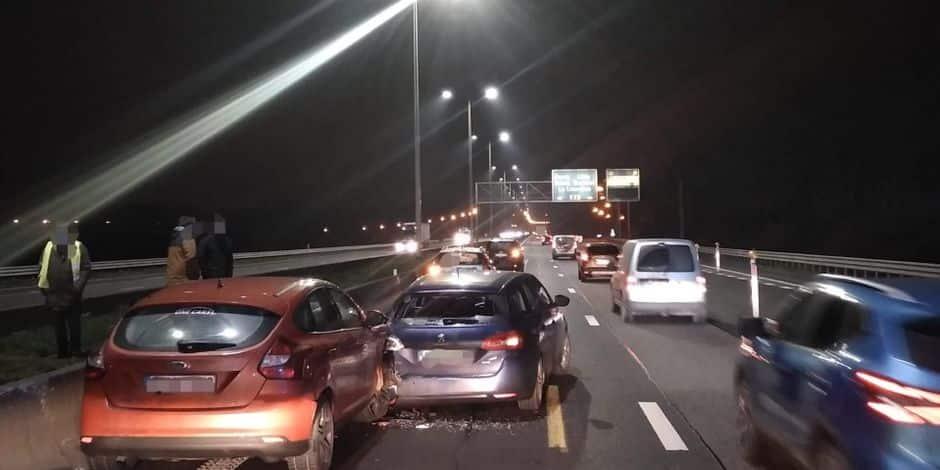 Gouy: quatre voitures entrent en collision