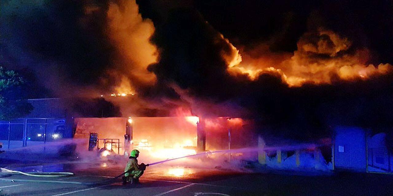 Le Zeeman ravagé par un incendie