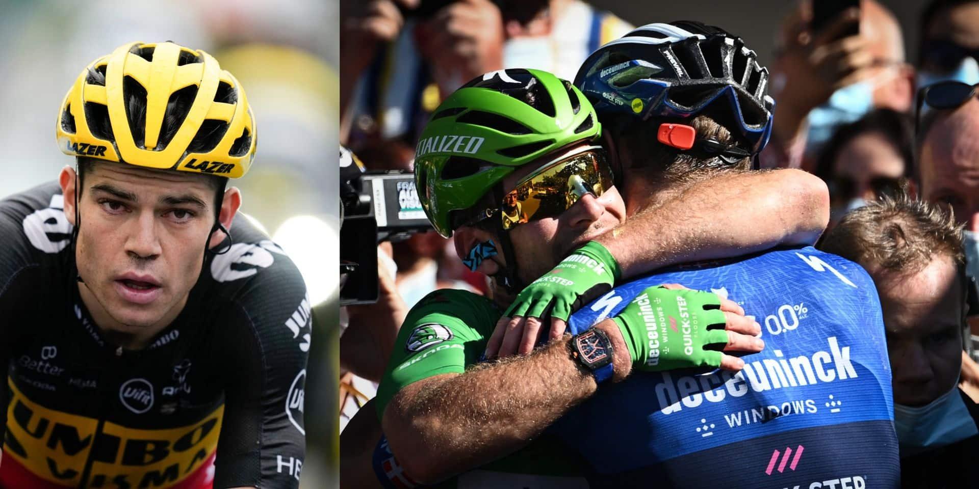 "Van Aert s'incline devant Mark Cavendish: ""Waouw !"""