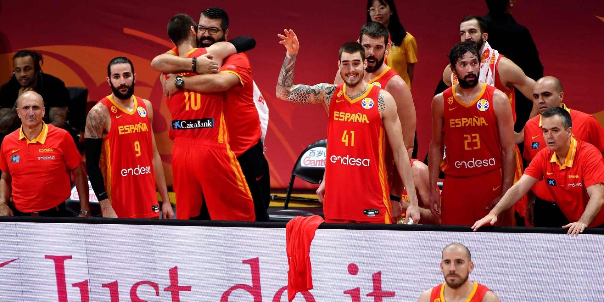 L'Espagne championne du monde de basket pour la deuxième fois de son histoire