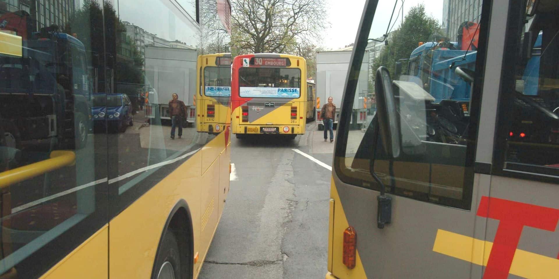 Liège : le trafic des bus reprend à Bressoux