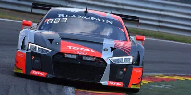 24H de Spa: Dries Vanthoor hisse l'Audi n°1 en pole devant l'Aston Martin n°62 de Maxime Martin ! - La DH