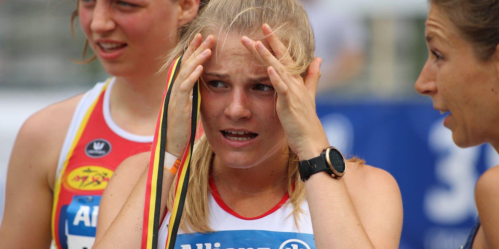 Une première en bronze pour Juliette Thomas sur le 5000 m des Championnats de Belgique
