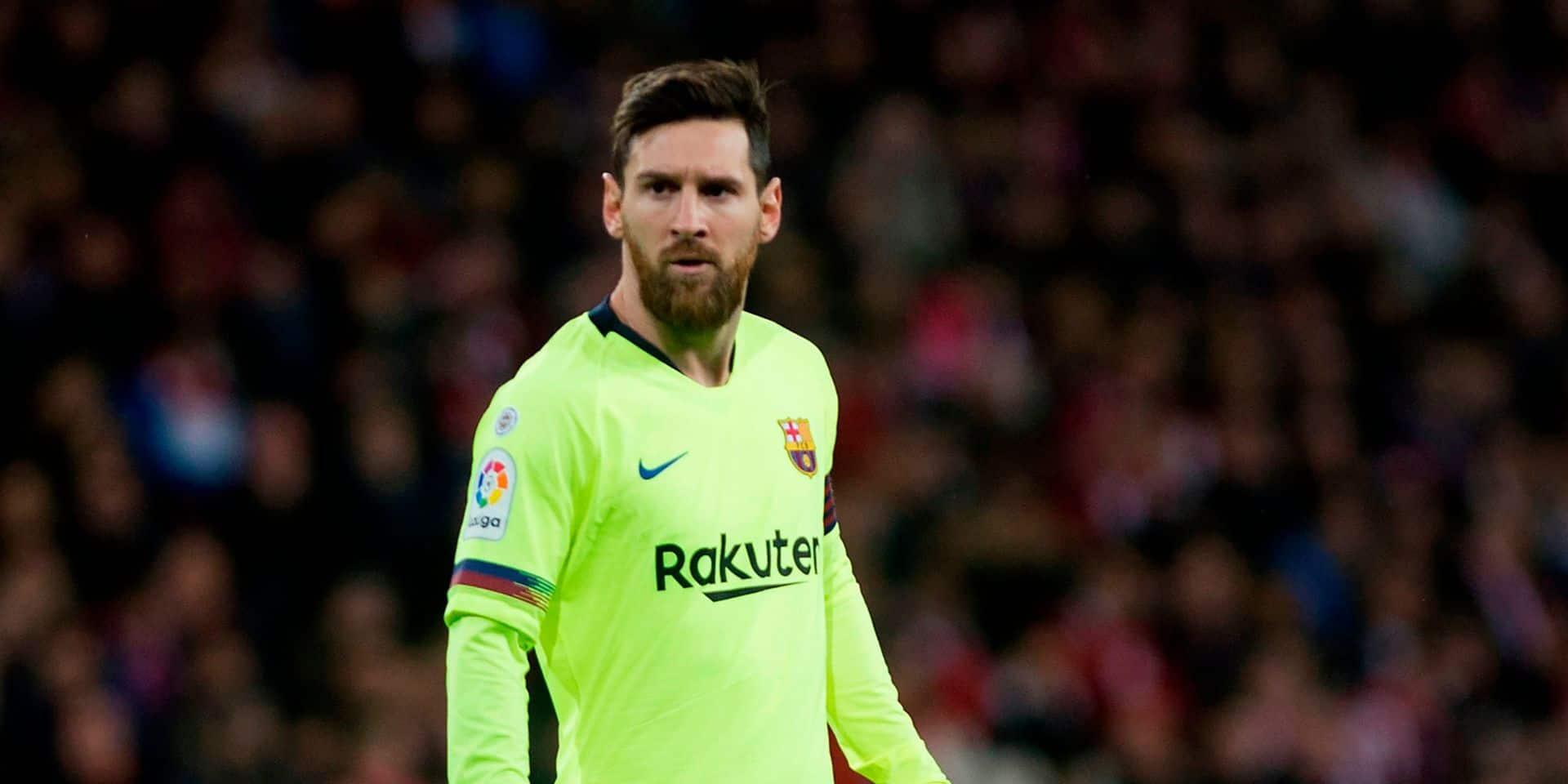 Messi, déjà trentenaire