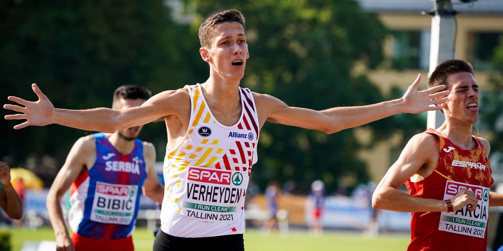 Avec 3 médailles aux championnats d'Europe Espoirs, la Belgique passe à la vitesse supérieure