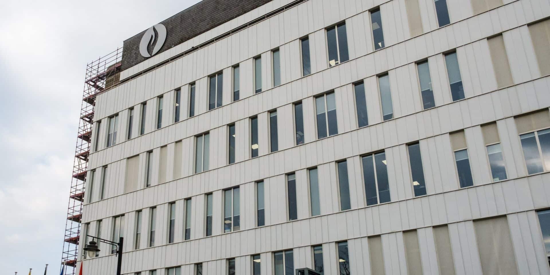 Mons: Derniers travaux au commissariat central