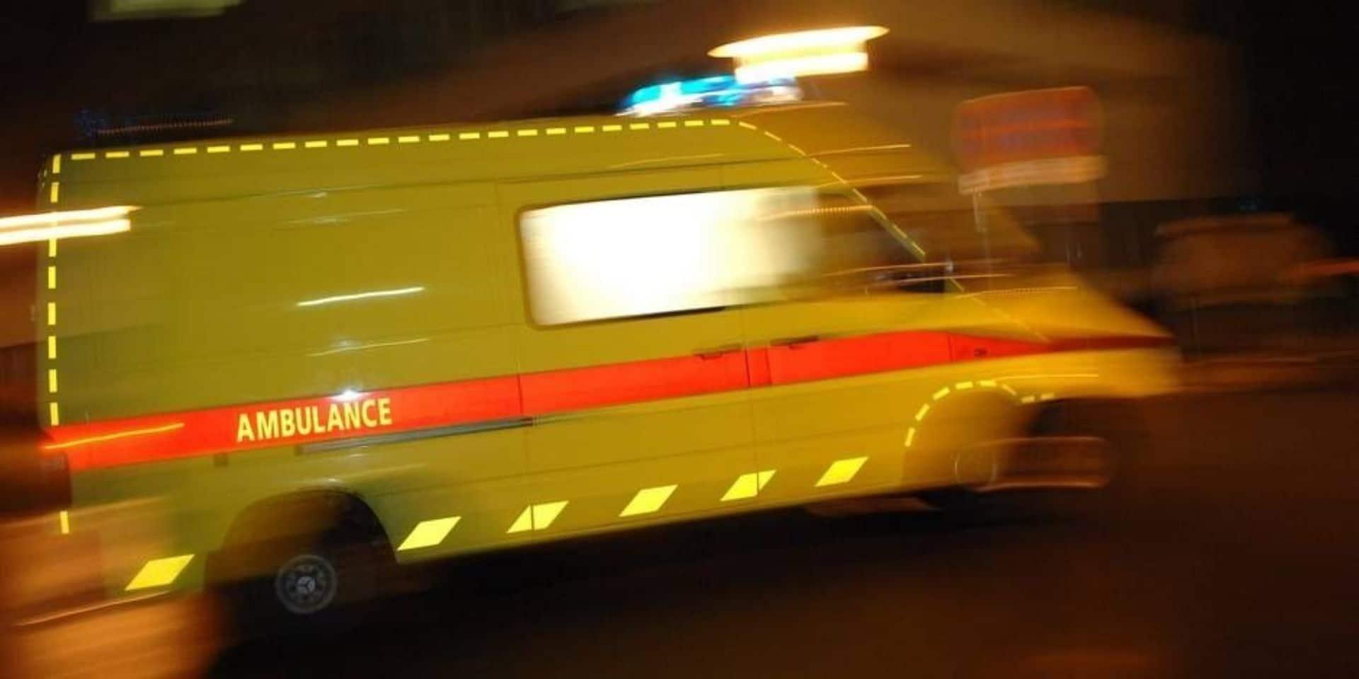 Accident de la route à Bastogne : un motocycliste légèrement blessé