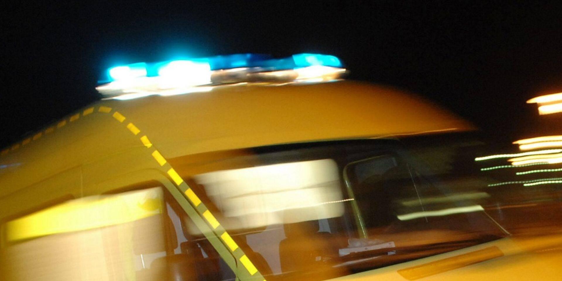 Drame sur un parking à Mouscron, une dame renversée par un camion est décédée