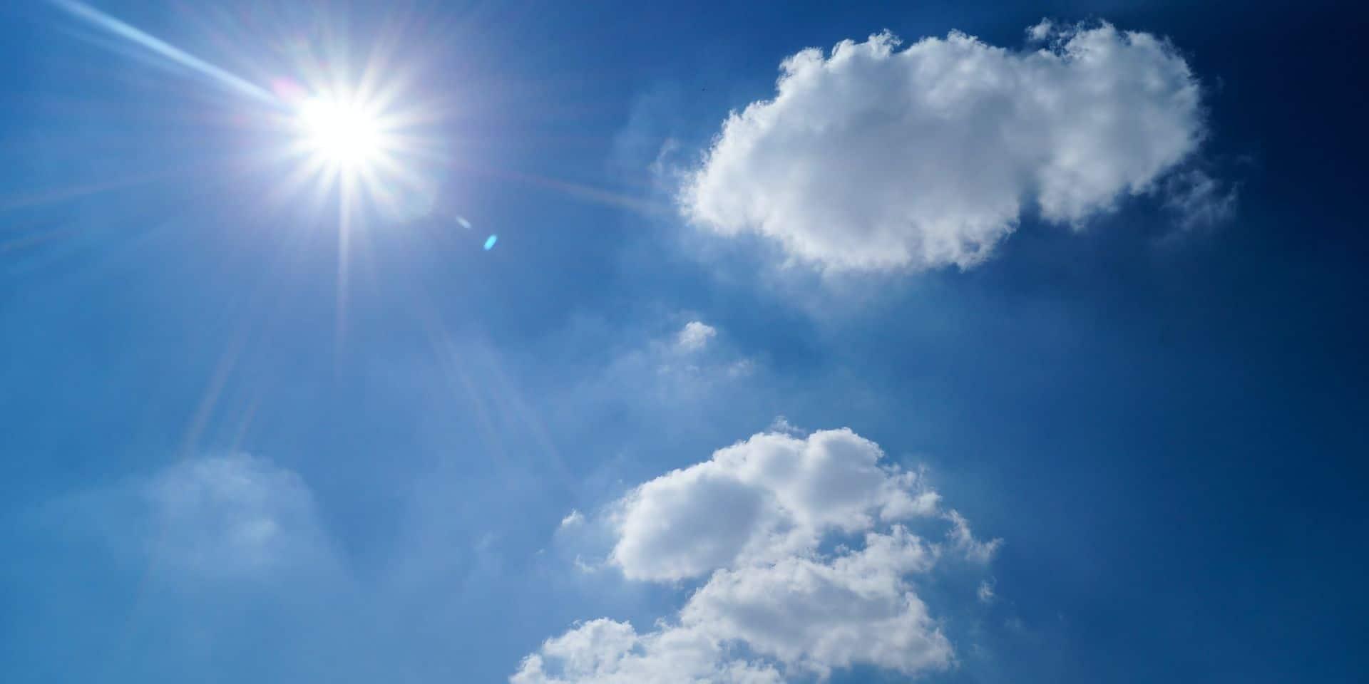 Météo: une nouvelle journée estivale ce vendredi avec jusqu'à 26 degrés