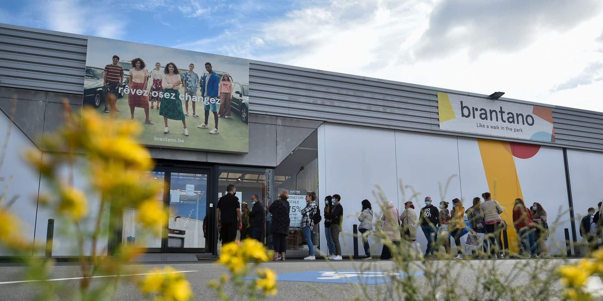 """Le syndicat s'exprime à propos de la reprise de la filiale allemande: """"Seuls les magasins Brantano en Flandre seraient repris et le nom abandonné"""""""