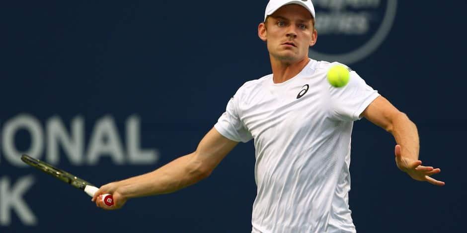 ATP Cincinnati - David Goffin s'impose face à Juan Martin Del Potro et accède aux demi-finales