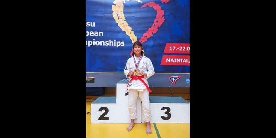 Ju-Jitsu: Licaï Pourtois, de nouveau championne d'Europe