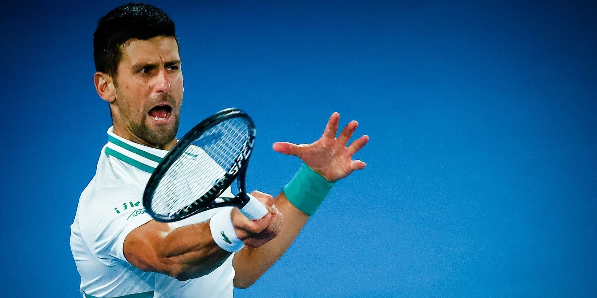 Australian Open: le pari risqué de Novak Djokovic