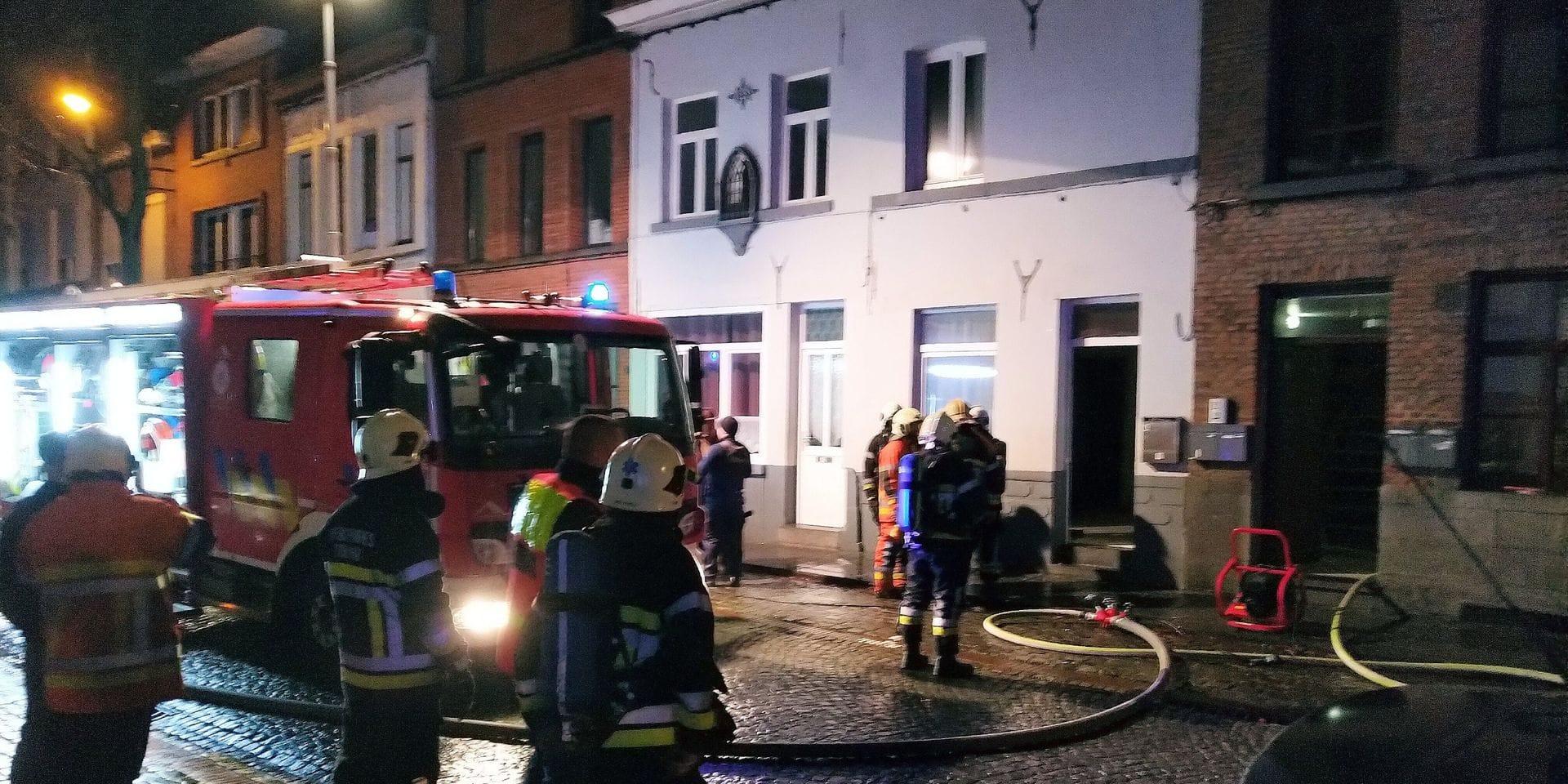 Deux incendies en quelques heures à Ath et Basècles: Une dame a perdu la vie
