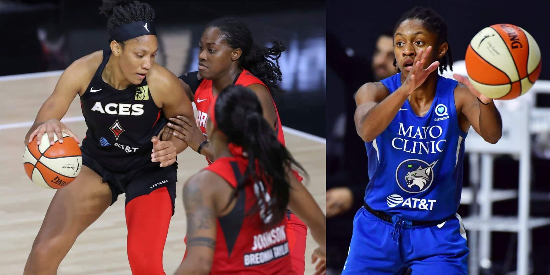 WNBA: les Américaines A'ja Wilson (MVP) et Crystal Dangerfield (Rookie) joueuses de l'année