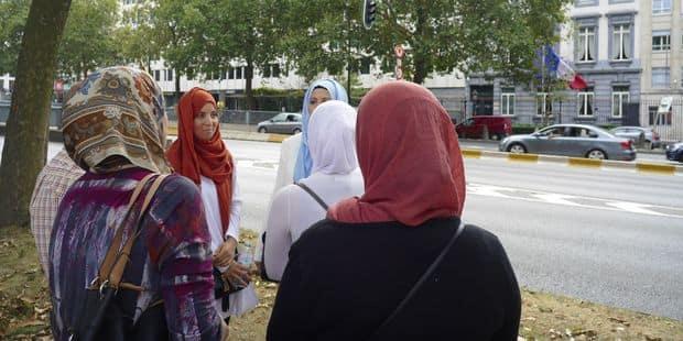 Manifestation au consulat de France à Bruxelles pour la libération de Tariq Ramadan - La DH