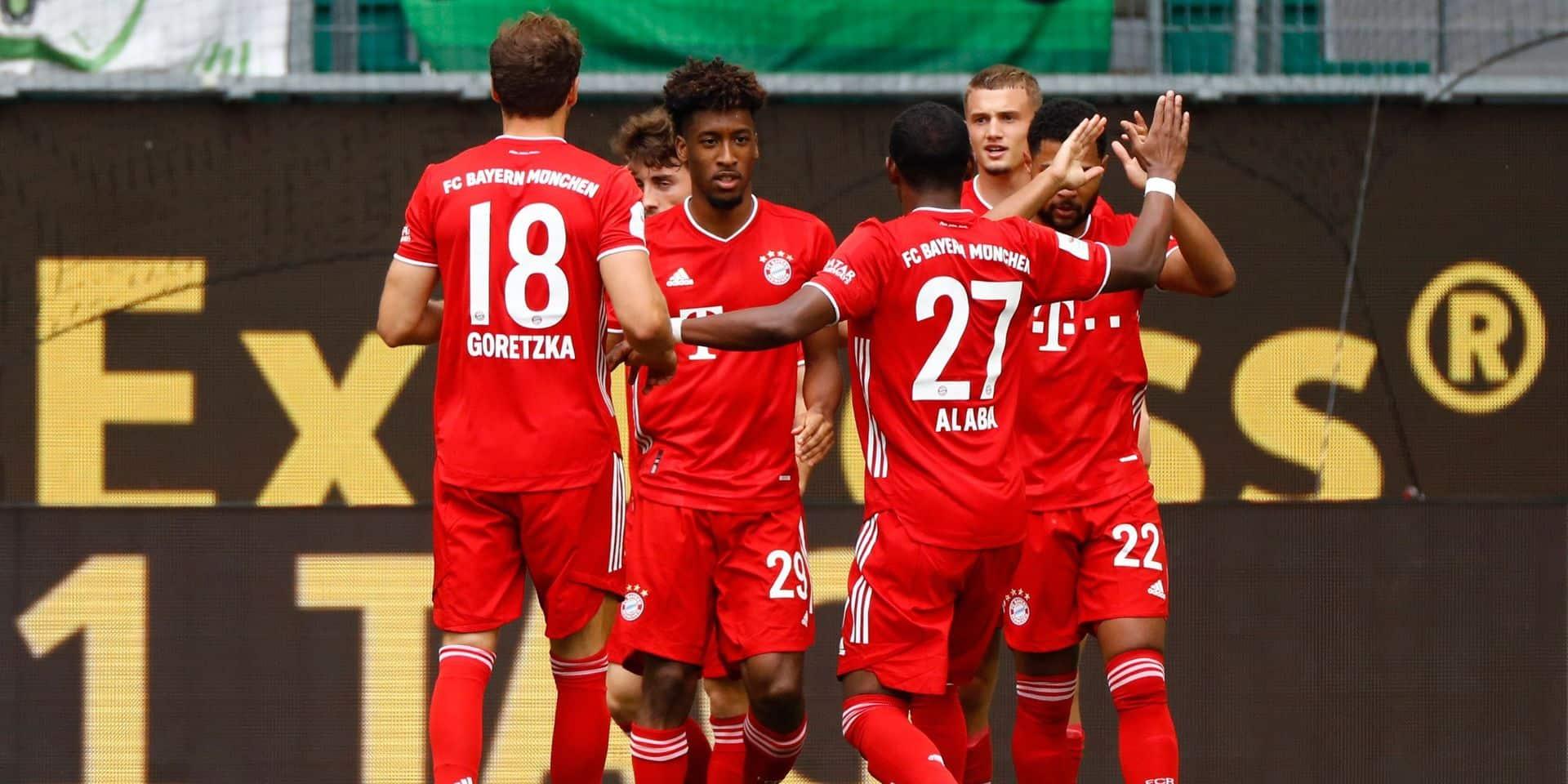 Le Bayern roi de la circulation du ballon