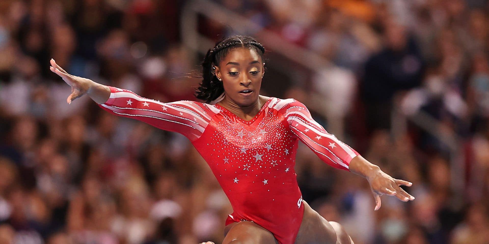 La gymnaste Simone Biles, première sportive à avoir son emoji sur Twitter