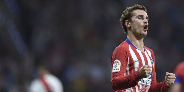 Antoine Griezmann (Atletico Madrid) nommé meilleur joueur de la Ligue Europa 2017-2018 - La DH