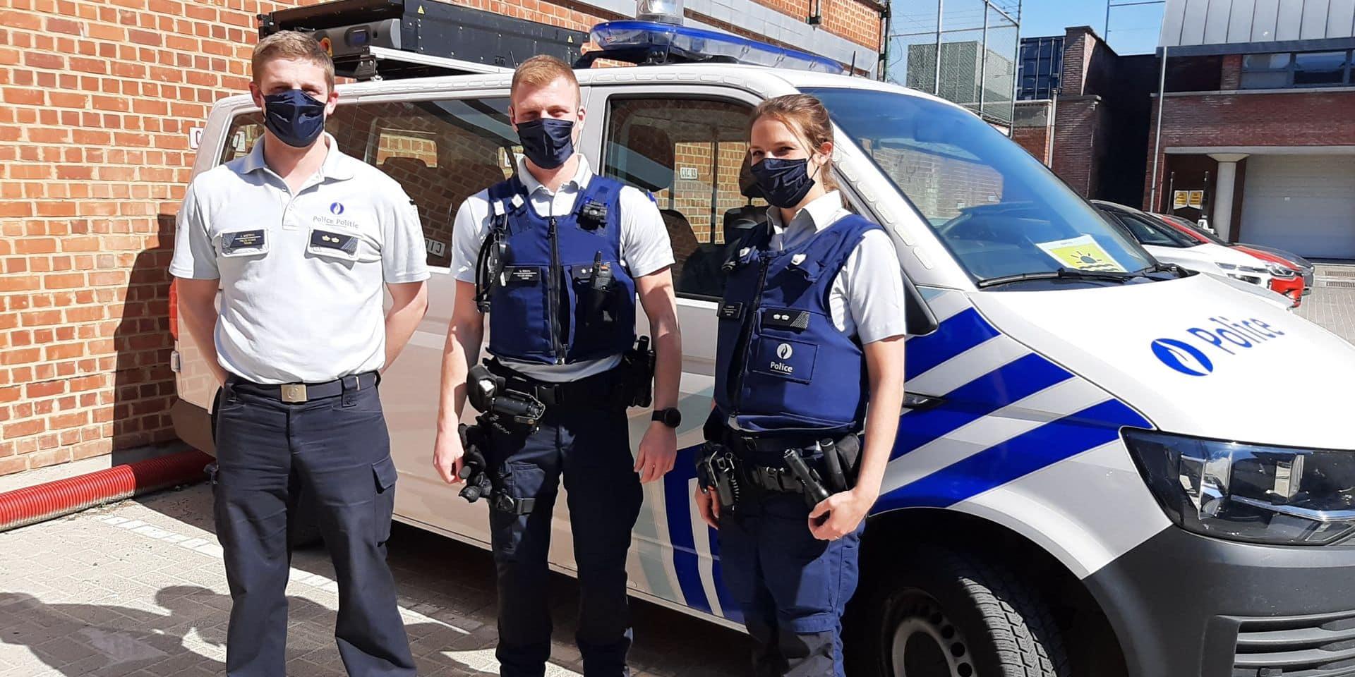 Les policiers de Wavre désormais équipés de masques cousus par des couturières bénévoles