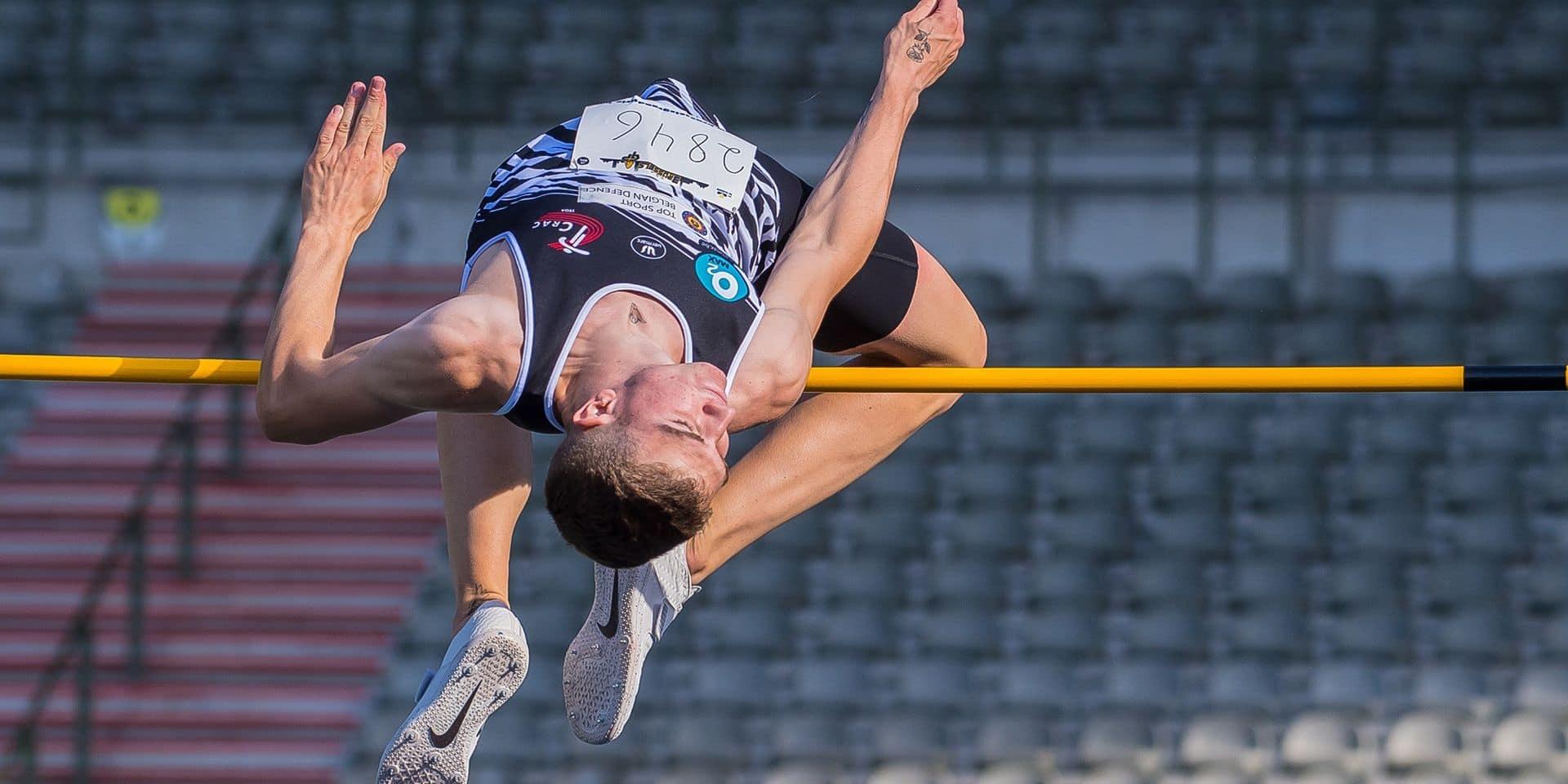 Thomas Carmoy, le sauteur sans complexes: il est de loin le plus précoce des spécialistes belges de la hauteur!