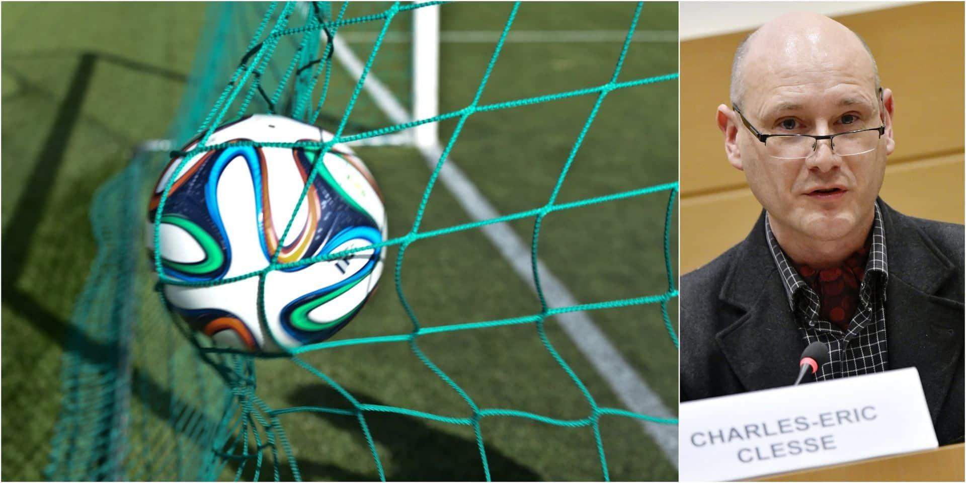 """Charles-Eric Clesse veut contrer les dessous du football amateur: """"Beaucoup payent sous la table"""""""