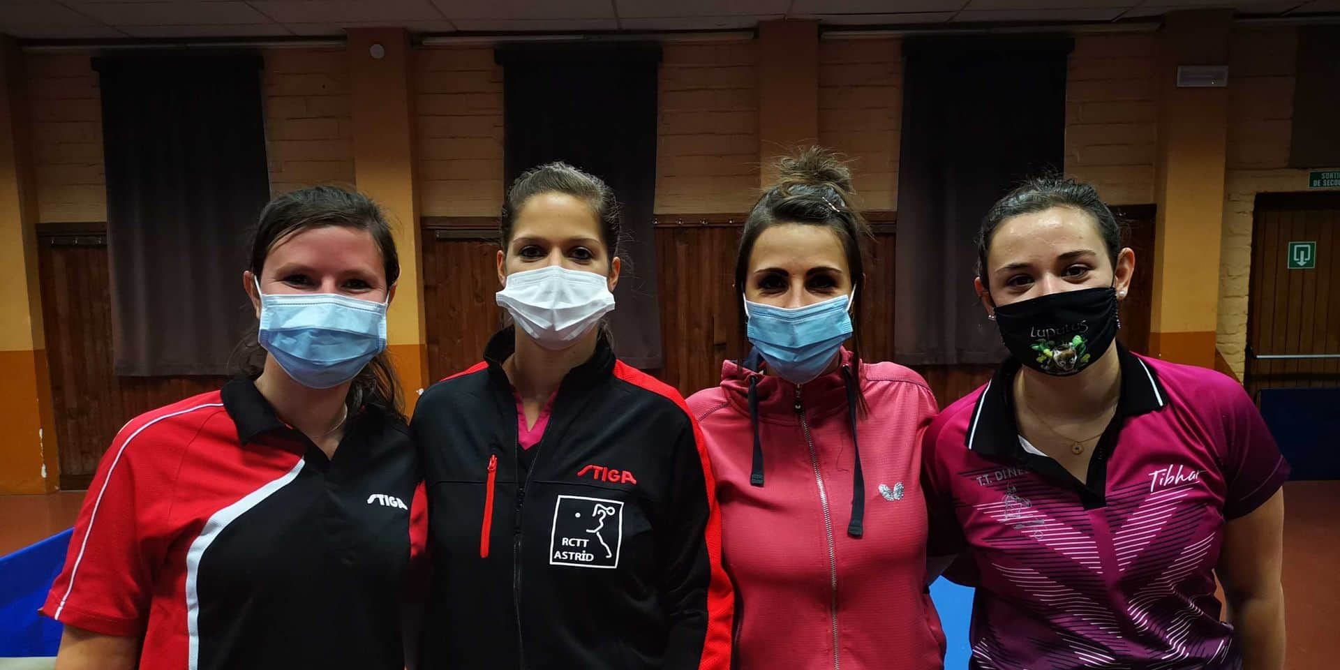 Tennis de table : Les retrouvailles spéciales d'Alison Georis avec Dinez