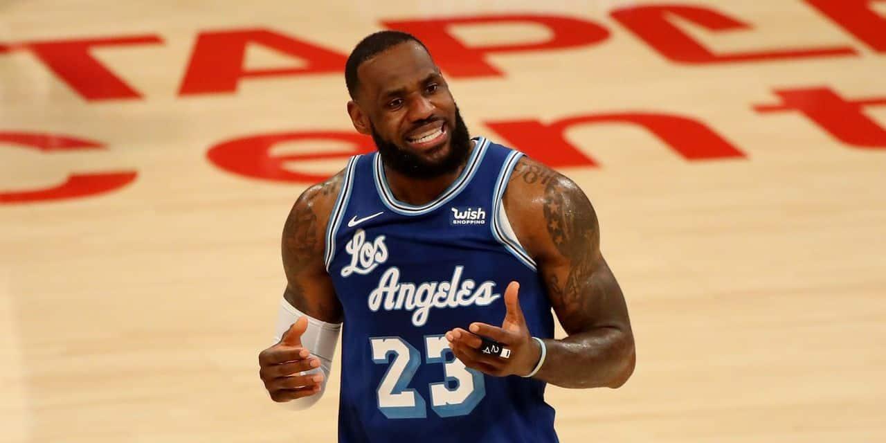 NBA: LeBron James, troisième joueur de l'histoire à atteindre les 35.000 points - dh.be