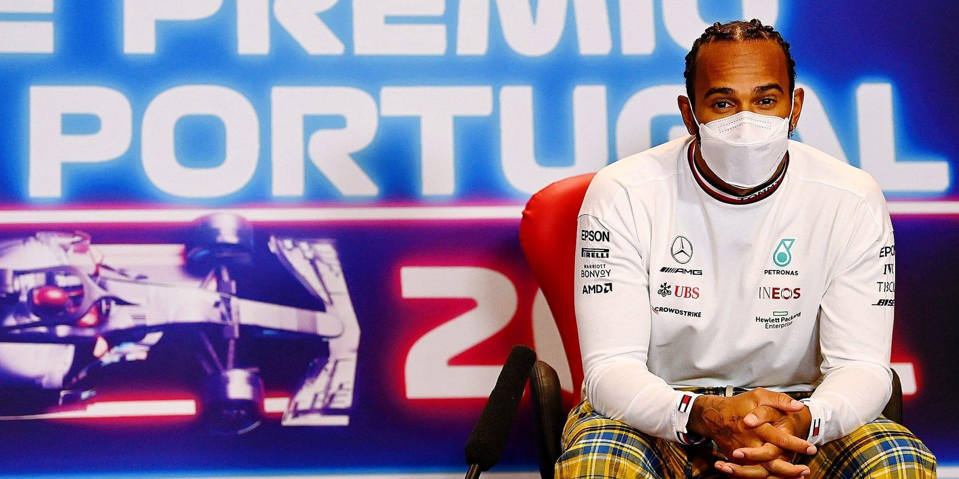 Hamilton-Verstappen: balle au centre avant la lutte portugaise