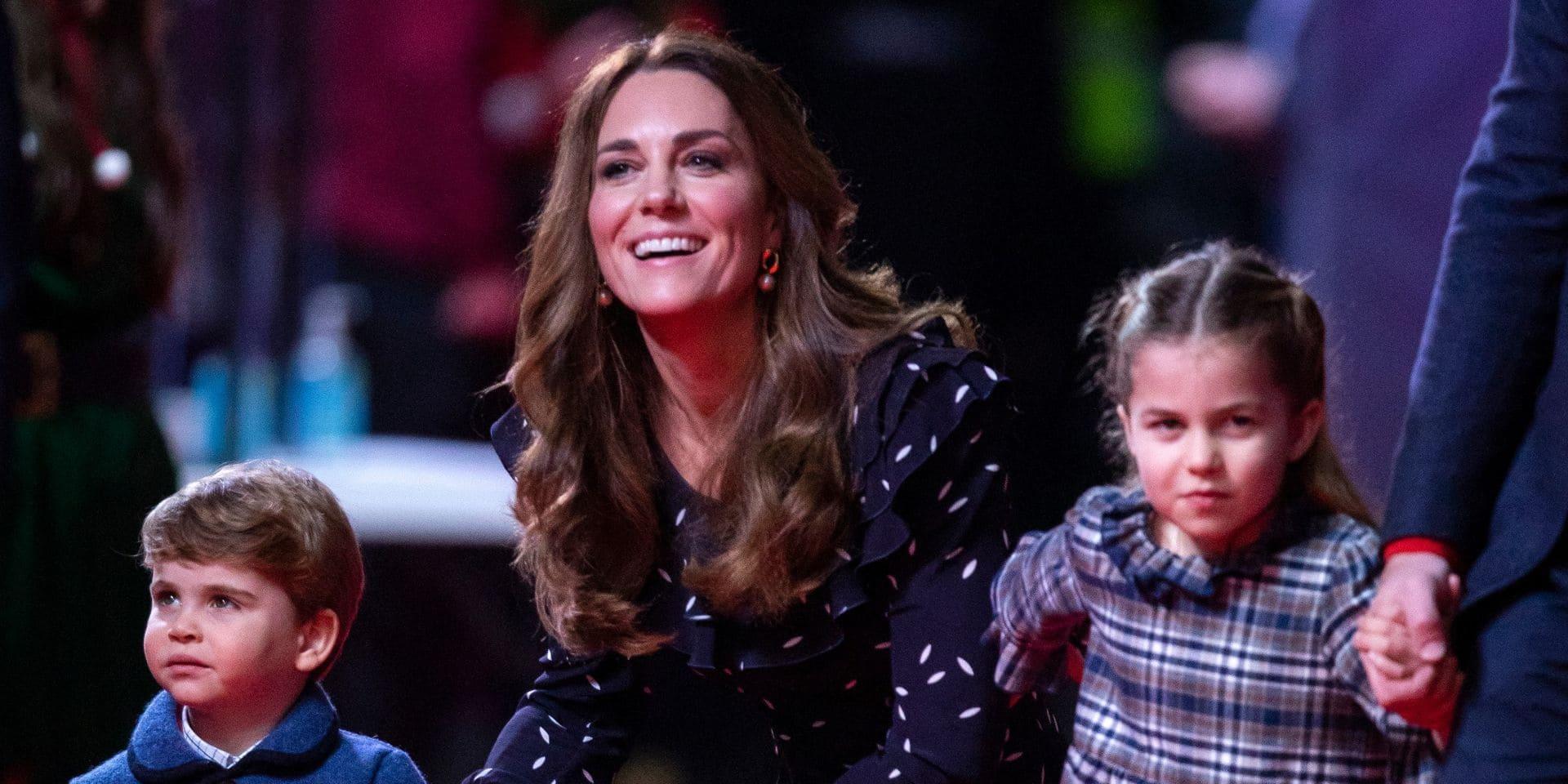"""""""C'est le sosie de sa maman"""": Kate Middleton partage une nouvelle photo du prince Louis pour ses 3 ans"""