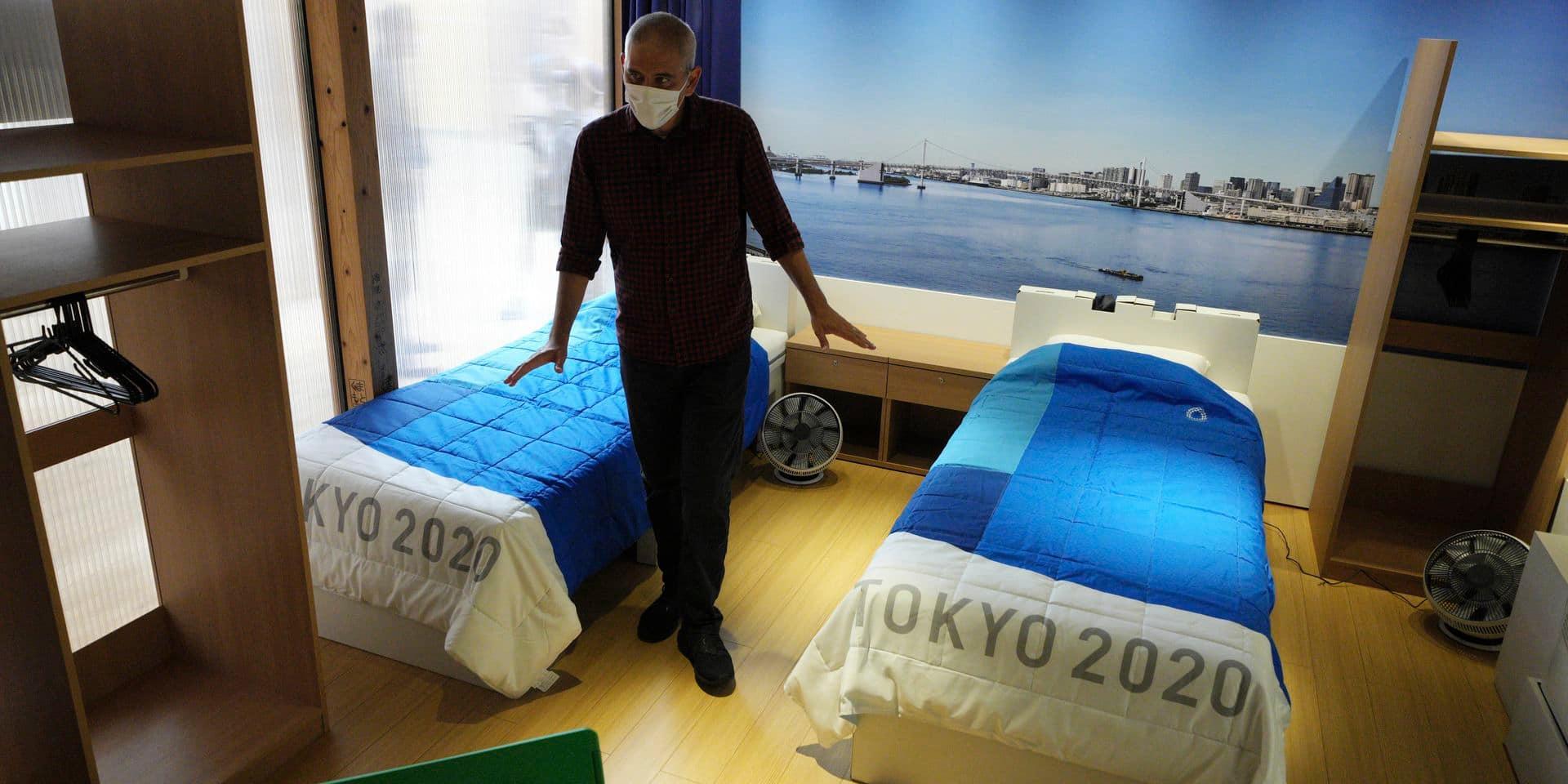 """Le Village olympique de Tokyo en version """"anti-Covid"""""""