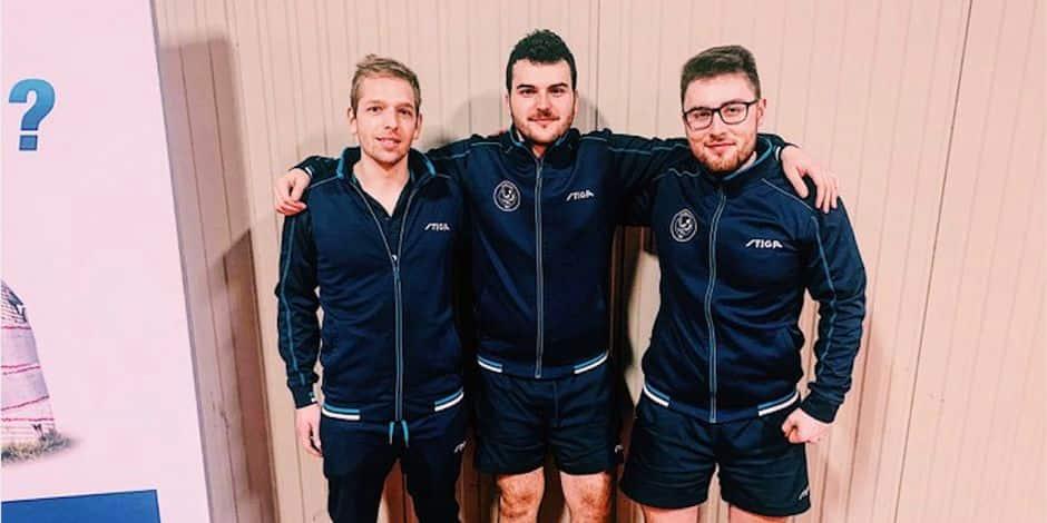 Tennis de table: L'Alpa s'offre le derby et prend la tête en Nationale 1