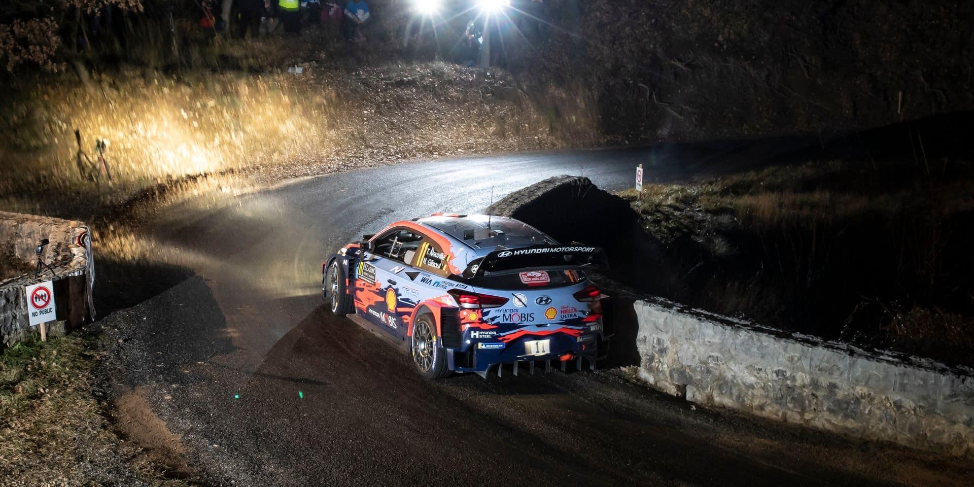 WRC Monte-Carlo (ES2) : Neuville fait péter un chrono et prend la tête !