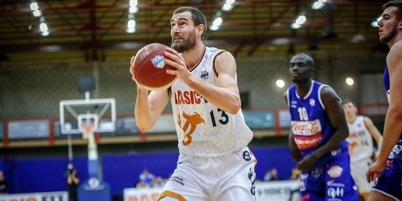 Brussel 08/02/2019 Basket/EuroMillions League/Game 16/Brussels-Malines/ Gorgemans N°13 Brussels PHOTO : BENOIT BOUCHEZ Copyright PHOTO NEWS 2019-