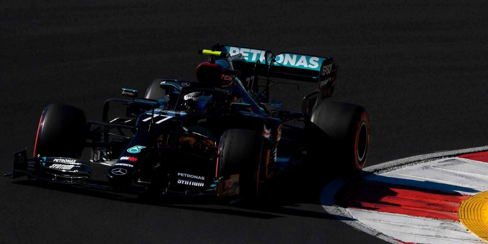 Valtteri Bottas encore le plus rapide lors de la dernière séance d'essais libres en F1