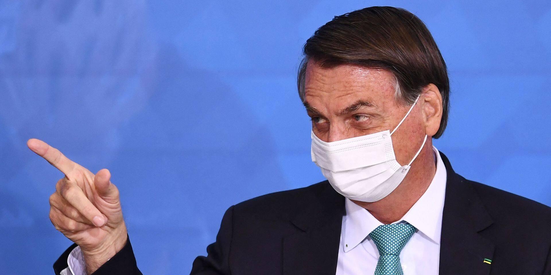 Brésil: une suspecte affaire d'achat de vaccin risque d'éclabousser Bolsonaro