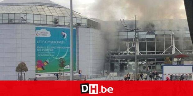 No credit - BI - Explosions à l'aéroport Zaventem de Bruxelles le 22 mars 2016 No credit - BI - Bombings at Zaventem airport in Brussels on 22/03/2016 Reporters / Bpresse