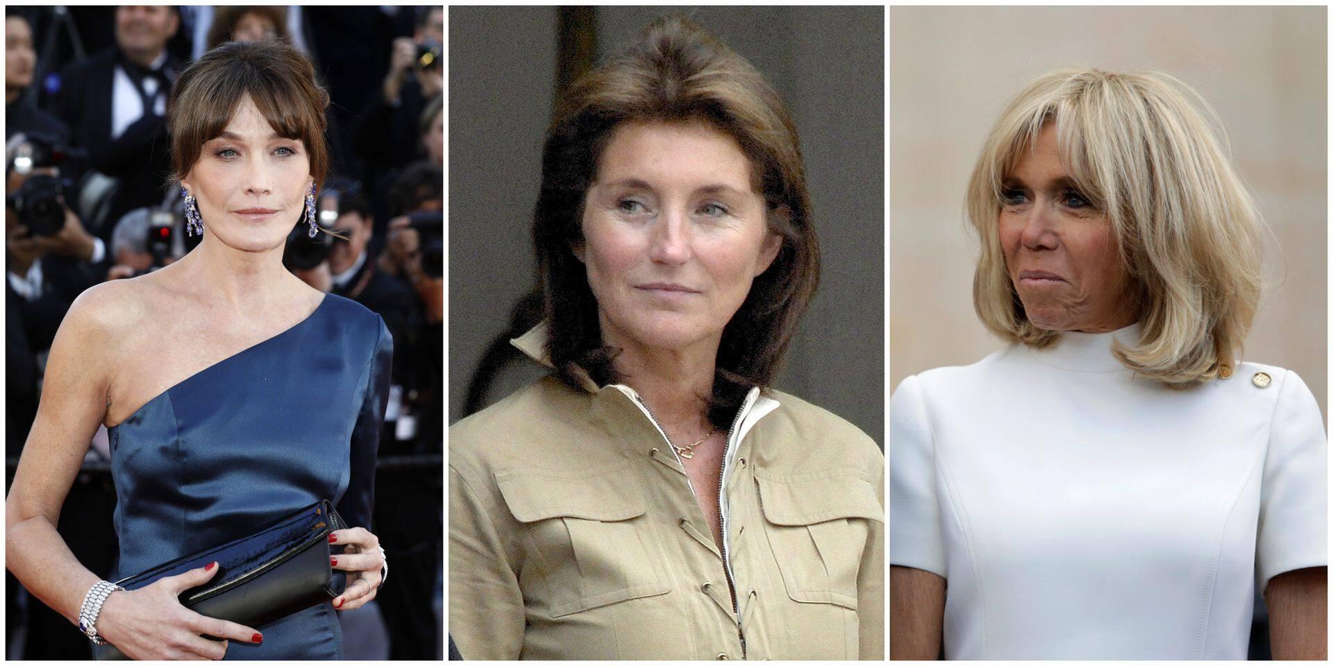 Brigitte Macron, Carla Bruni, Cécilia Sarkozy: quand les dames de l'Elysée tissent des liens au-delà du protocole