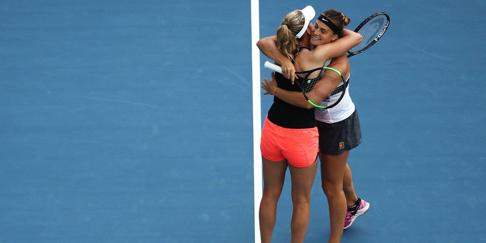 WTA Miami: Elise Mertens et Aryna Sabalenka en finale du double