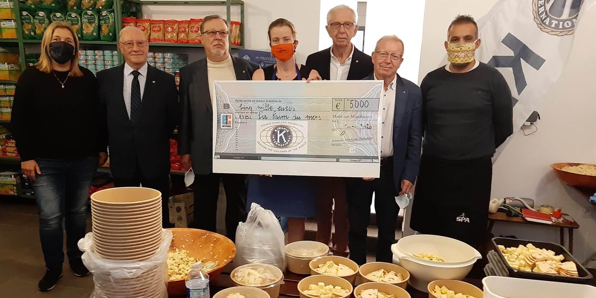 Charleroi: 1.500% d'augmentation des demandes d'aides alimentaires en 5 mois