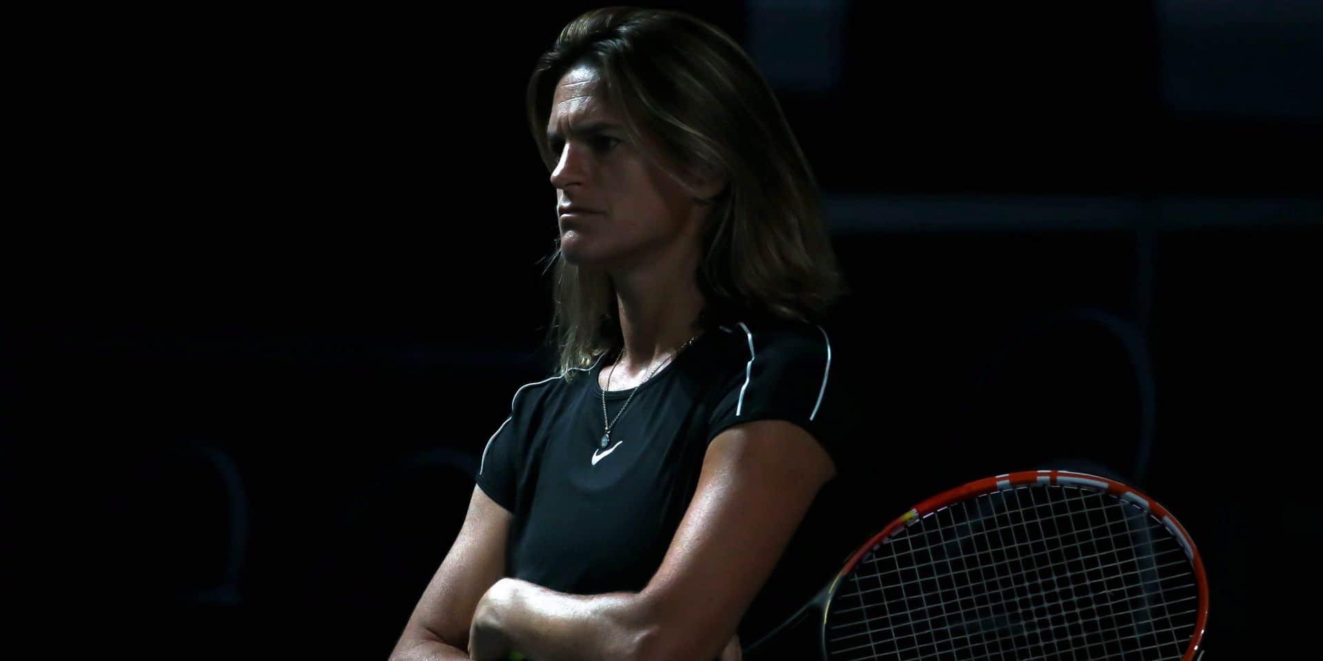 """Pour Amélie Mauresmo, la saison de tennis est déjà terminée : """"Pas de vaccin = pas de tennis"""""""