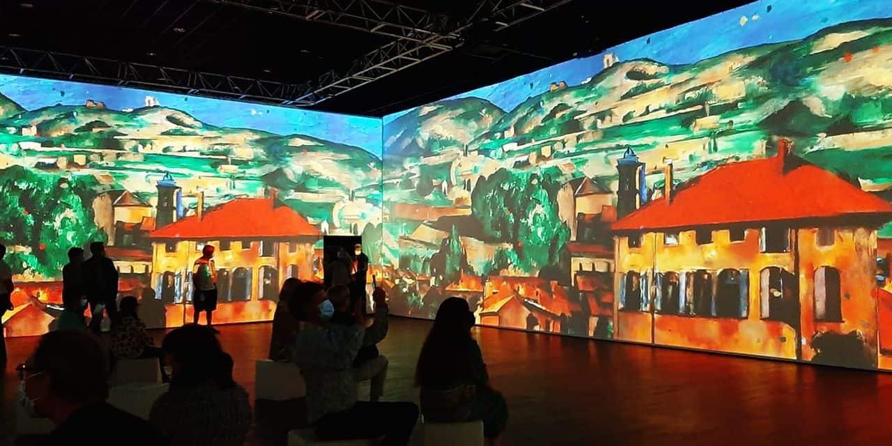 """L'exposition immersive """"De Monet à Kandinsky"""" prolongée jusqu'au 10 octobre au Palais des Congrès de Liège"""